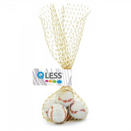 Custom Logo Mesh Bag w/ Chocolate Balls
